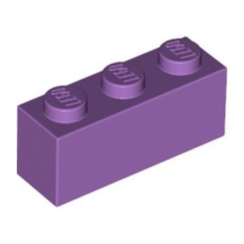 LEGO 6109896 BRIQUE 1X3 - MEDIUM LAVENDER