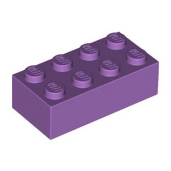LEGO 4655173 BRICK 2X4 - MEDIUM LAVENDER