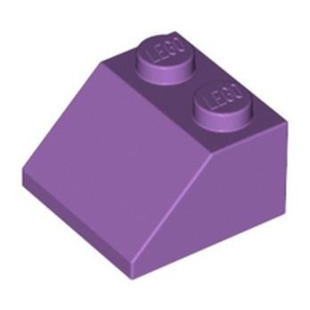 LEGO 6022023 - ROOF TILE 2X2/45° - MEDIUM LAVENDER