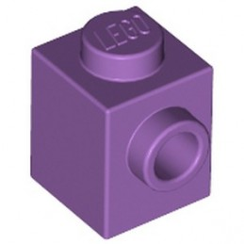 LEGO 6125776 BRICK 1X1 W. 1 KNOB - MEDIUM LAVENDER