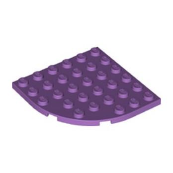 LEGO 6227038 PLATE 6X6 W. BOW - MEDIUM LAVENDER