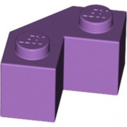 LEGO 6172387 BRICK 2X2 ANGLE 45° - MEDIUM LAVENDER