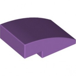 LEGO 6222948 BRICK, W/ HALF BOW 2X3, W/ CUT - MEDIUM LAVENDER