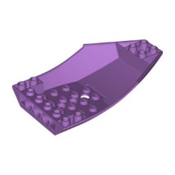 LEGO 6177874 SHELL 6X10X2 INV. - MEDIUM LAVENDER