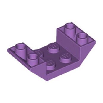 LEGO 6133798 ROOF TILE 2X4 INV. - MEDIUM LAVENDER