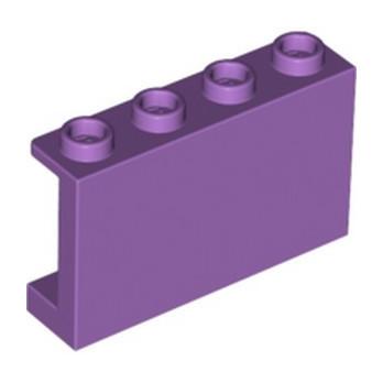 LEGO 6177875 WALL ELEMENT 1X4X2 - MEDIUM LAVENDER