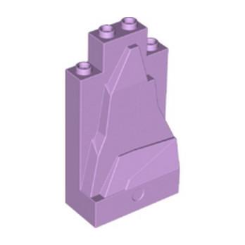 LEGO 6146987 WALL ELEMENT 2X4X6, MOUNTAIN - LAVENDER