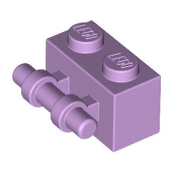 LEGO 6172424 BRICK 1X2 W/ STICK - LAVENDER