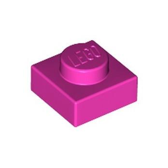 LEGO 6217797 PLATE 1X1 - DARK PINK