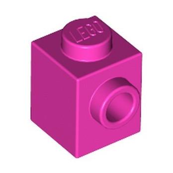 LEGO 6217793 BRICK 1X1 W. 1 KNOB - ROSE