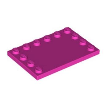 LEGO 6024672 PLATE 4X6 W. 12 KNOBS - DARK PINK