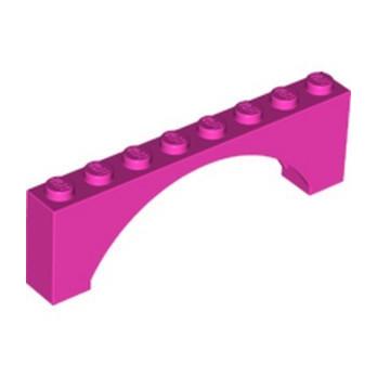 LEGO 6170955 BRICK W. BOW 1X8X2 - DARK PINK