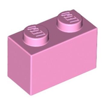 LEGO 4517993 BRICK 1X2 - BRIGHT PINK