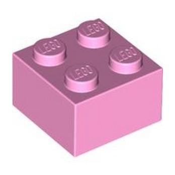 LEGO 4550359 BRICK 2X2 - BRIGHT PINK