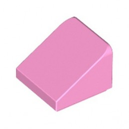 LEGO 4599538 ROOFT TILE 1X1X2/3 - BRIGHT PINK