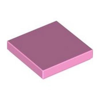 LEGO 4615728 FLAT TILE 2X2 - BRIGHT PINK