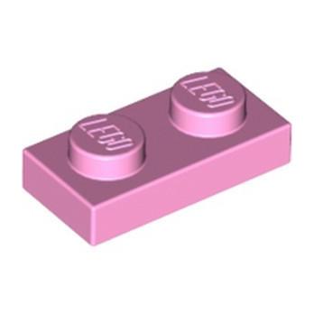 LEGO 4654128 PLATE 1X2 - ROSE CLAIR
