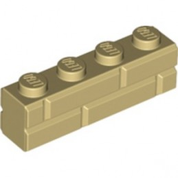 LEGO 6232136 BRICK 1X4 - TAN