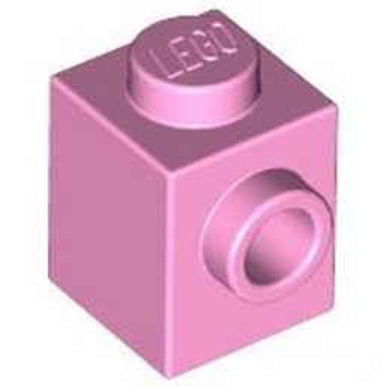 LEGO 4621554 BRICK 1X1 W. 1 KNOB - BRIGHT PINK