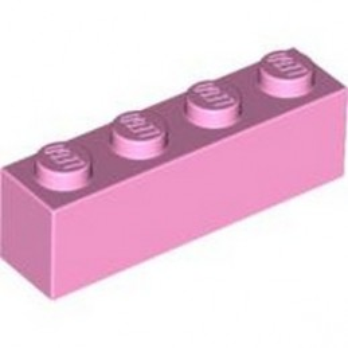 LEGO 4518890 BRICK 1X4 - BRIGHT PINK