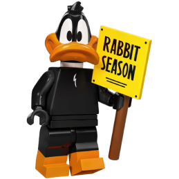 Mini Figurine Lego® Série Looney Tunes™ - Daffy Duck
