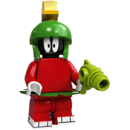 Minifigure Lego® Looney Tunes™ Series - Marvin the Martian