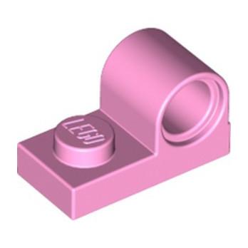 LEGO 6213791 PLATE 1X2 W. HOR. HOLE Ø 4.8 - BRIGHT PINK