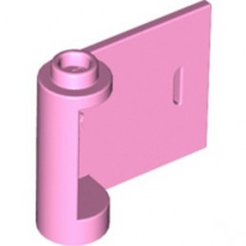 LEGO 6058770 RIGHT DOOR W/KNOB HINGE 1X3X2 - BRIGHT PINK