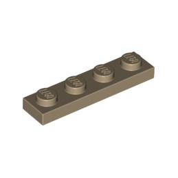 LEGO 4626904 PLATE 1X4 - SAND YELLOW