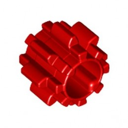 LEGO 6036545 GEAR WITHOUT FRICTION Z8 Ø10 - RED