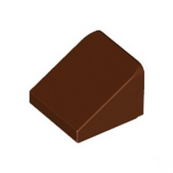 LEGO 4504376 ROOF TILE 1X1X2/3 - REDDISH BROWN