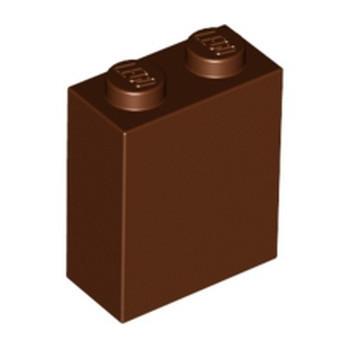 LEGO 6172808 BRICK 1X2X2 - REDDISH BROWN