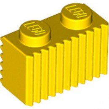 LEGO 287724 PALISADE BRICK 1X2 - YELLOW