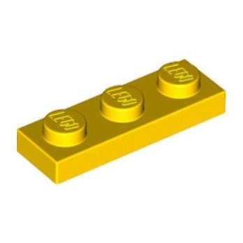 LEGO 362324 PLATE 1X3 - YELLOW