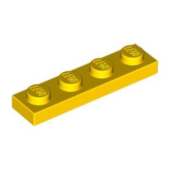 LEGO 371024 PLATE 1X4 - YELLOW