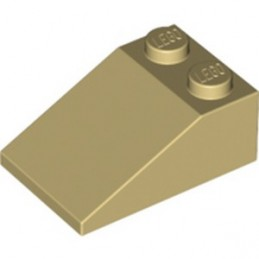 LEGO 6020375 ROOF TILE 2X3/25° - TAN