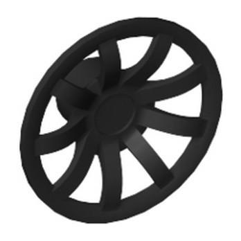 LEGO 6296106 HUB CAP Ø 24 - BLACK