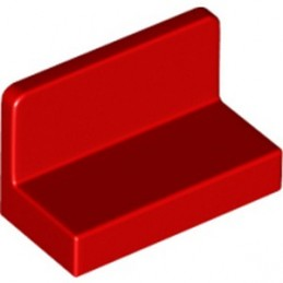 LEGO 6146217 WALL ELEMENT 1X2X1 - RED