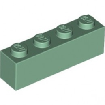 LEGO 4521947 BRICK 1X4 - SAND GREEN
