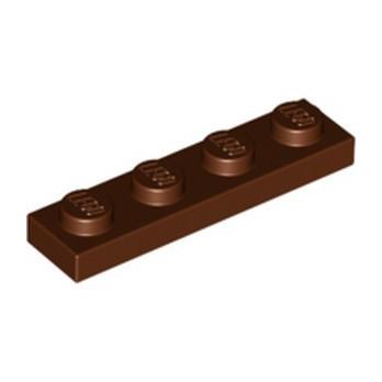 LEGO 4211190 PLATE 1X4 - REDDISH BROWN
