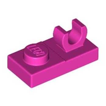 LEGO 6334476 PLATE 1X2 W. VERTICAL GRIP - DARK PINK