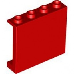 LEGO 4558212 WALL ELEMENT 1X4X3 - RED