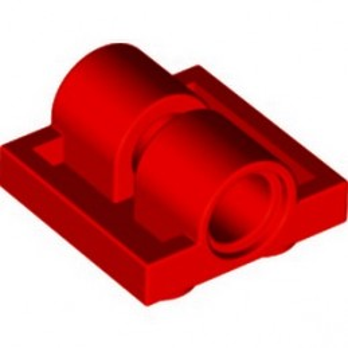 LEGO 281721 TECHNIC DOUB. BEARING PL. 2X2 - RED