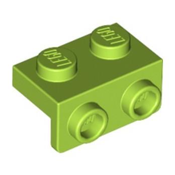 LEGO 6310279 ANGULAR PLATE 1,5 TOP 1X2 1/2 - BRIGHT YELLOWISH GREEN