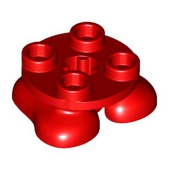 LEGO 6294713 FEET - RED