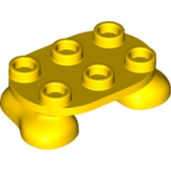 LEGO 6308887 FEET 2X3 - YELLOW