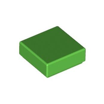 LEGO 6172375 FLAT TILE 1X1 - BRIGHT GREEN