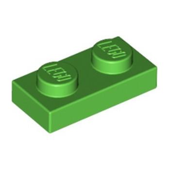 LEGO 6343326 PLATE 1X2 - DARK GREEN