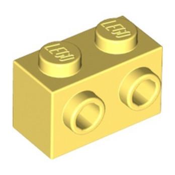 LEGO 6117317 BRICK 1X2 W. 2 KNOBS - COOL YELLOW
