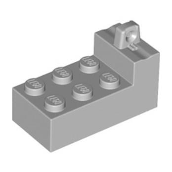 LEGO 6097167 BRICK 2x4x1 2/3 W/Ve STUB - MEDIUM STONE GREY